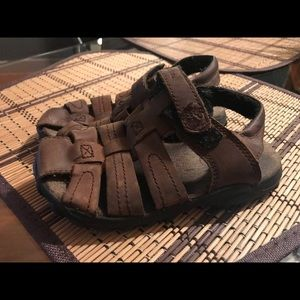 Toddler boy stride rite sandals size 11.5